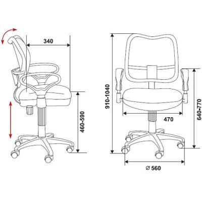 Офисное кресло Бюрократ офисное (69576) CH-799