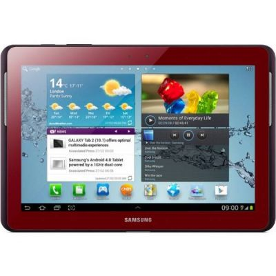 Планшет Samsung Galaxy Tab 2 10.1 P5100 16Gb 3G (Red) GT-P5100GRVSER