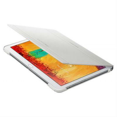 Чехол Samsung для Galaxy Note 10.1 2014 Edition, PU+plastic, White EF-BP600BWEG