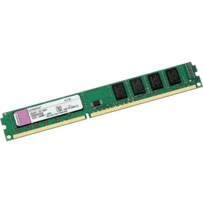 Оперативная память Kingston 8GB 1600MHz DDR3 ECC Reg CL11 DIMM DR x8 w/TS VLP KVR16R11D8L/8