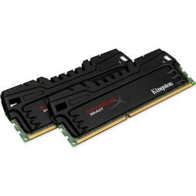 Оперативная память Kingston DIMM 16GB 2400MHz DDR3 CL11 (Kit of 2) XMP Beast Series KHX24C11T3K2/16X