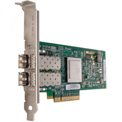 Адаптер Lenovo ThinkServer LPe12002 Dual Port 8Gb Fibre Channel HBA by Emulex 0C19478