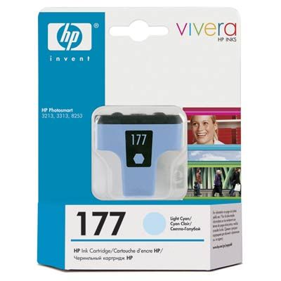Картридж HP 177 Light Cyan/Светлый Циан (C8774HE)