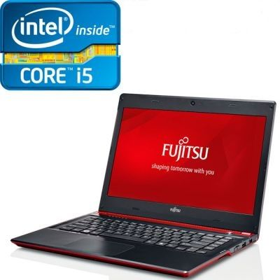 Ультрабук Fujitsu LifeBook UH572 Red VFY:UH572MF362RU