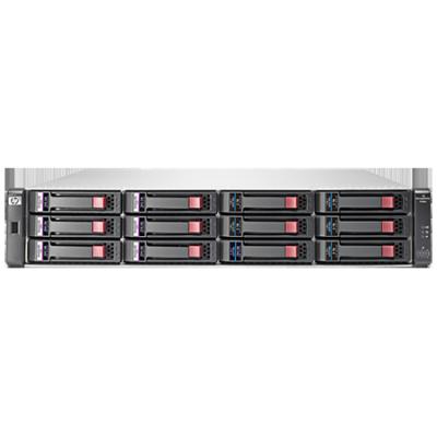 HP Полка для дисков P2000 Dual I/O LFF 12 Disk Enclosure AP843B