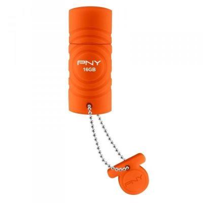 Флешка PNY 16GB USB Flash drive Sport Attache Orange FDU16GBSPORTO-EF