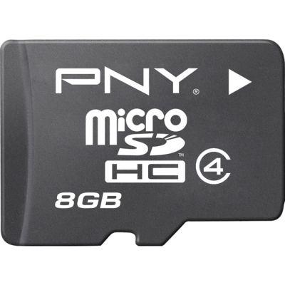 ����� ������ PNY microSDHC Class 4 8GB SDU8GBHC4OPTIMA-EF
