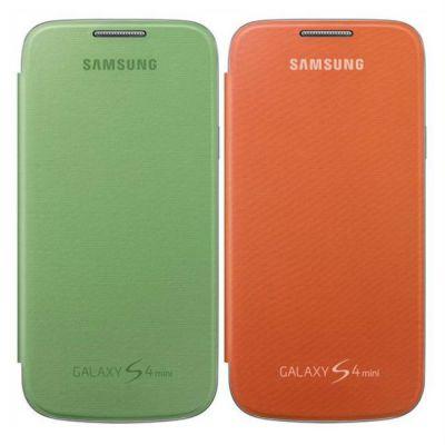 Чехол Samsung для Galaxy S 4 mini 2 шт(оранжевый/зеленый) EF-FI919BXEGWW