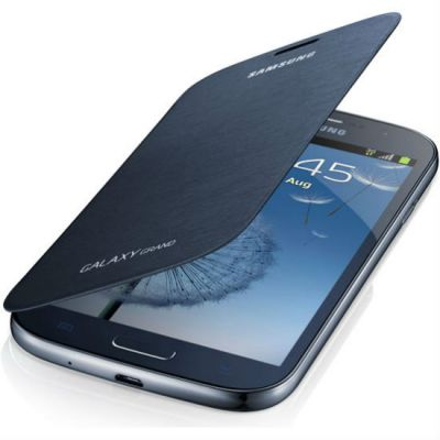 Чехол Samsung для GALAXY Grand I9082 ( синий) EF-FI908BLEG