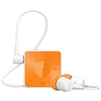 Гарнитура Sony SBH20 Bluetooth с поддержкой NFC и функцией HD Voice Оранжевая