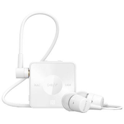 Гарнитура Sony SBH20 Bluetooth с поддержкой NFC и функцией HD Voice Белая