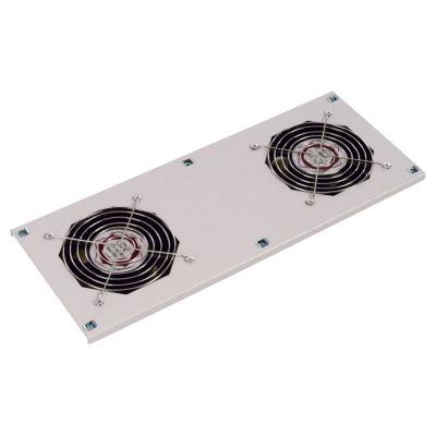 ЦМО Модуль вентиляторный потолочный (170x425), 2 вентилятора с датчиком 35С МВ-400-2С
