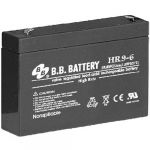 Аккумулятор B.B. Battery HR 9-6 (6V; 9Ah) B-HR6/9