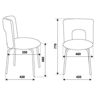 Офисное кресло Бюрократ Coffee (69790) KF-1/27-03