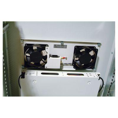 ЦМО Шкаф телекоммуникационный напольный 22U (600x1000) дверь перфорированная (3 места) ШТК-М 22.6.10-4ААА