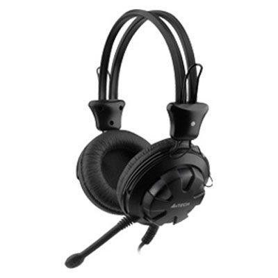 Наушники с микрофоном A4Tech HS-28 (Black)