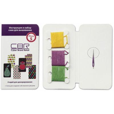 Чехол CBR набор для вышивания iPhone 5 Green FD 374-5