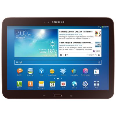 ������� Samsung Galaxy Tab 3 10.1 P5200 16Gb 3G (Brown) GT-P5200GNASER