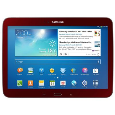 Планшет Samsung Galaxy Tab 3 10.1 P5200 16Gb 3G (Red) GT-P5200GRASER