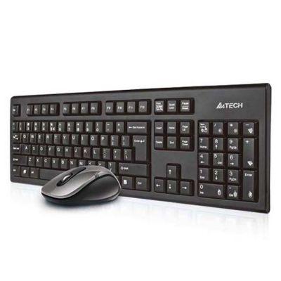 Комплект A4Tech 7100H Black Wireless Клавиатура+Мышь (GR-85+G7-630D)