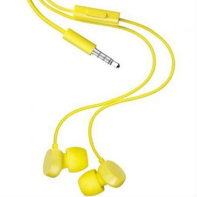 Гарнитура Nokia проводная для мобильных телефонов (жёлтый) WH-208