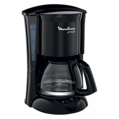 Кофеварка Moulinex FG1528 Principio Mini черная