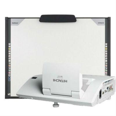 Интерактивная доска Hitachi комплект интерактивная доска Hitachi FX-TRIO88 + ультракороткофокусный широкоформатный проектор Hitachi CP-AW251NM (настенное крепление для проектора в комплекте)