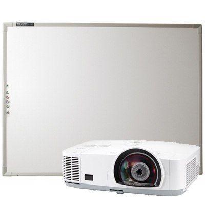Интерактивная доска Trace Board комплект интерактивная доска Trace Board TS-4010 + короткофокусный проектор Nec M300WS