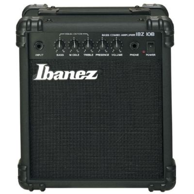 Комбоусилитель Ibanez басовый Black IBZ10B