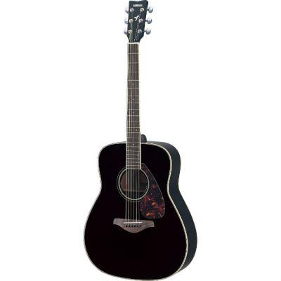 Акустическая гитара Yamaha FG720S Black