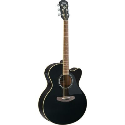 Электроакустическая гитара Yamaha CPX500II Black
