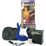 Yamaha Набор электрогитара EG112 Metallic Blue + комбо GA15 15 Вт + тюнер + чехол и аксессуары EG112GPII MB