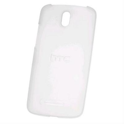 HTC клип-кейс для HTC Desire 500 dual sim Hard Shell (HC C910), Translucent