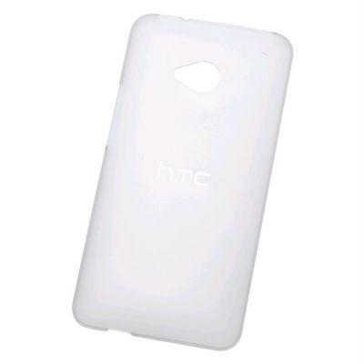 Чехол HTC клип-кейс для HTC One Hard Shell (HC C843) (в комплекте 2 защитные пленки)