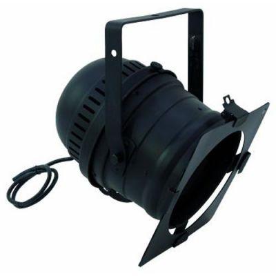 Eurolite Прожектор черный, короткий PAR 64