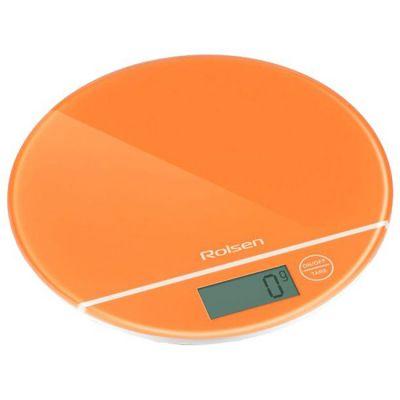 Кухонные весы Rolsen KS2906 оранжевый