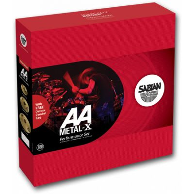 Комплект тарелок SABIAN AA Metal Performance Set