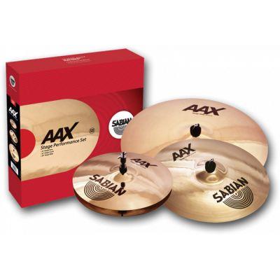 Комплект тарелок SABIAN AAX Stage Performance Set