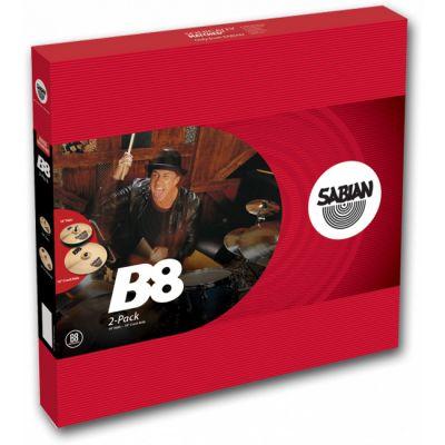 Комплект тарелок SABIAN B8 2-pack