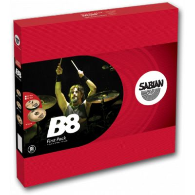 "Комплект тарелок SABIAN B8 First pack (13"" Hats, 16"" Crash)"
