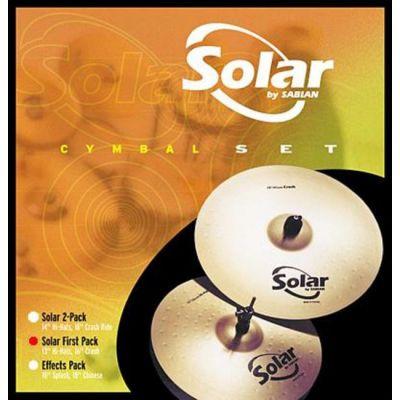 Комплект тарелок SABIAN SOLAR First pack
