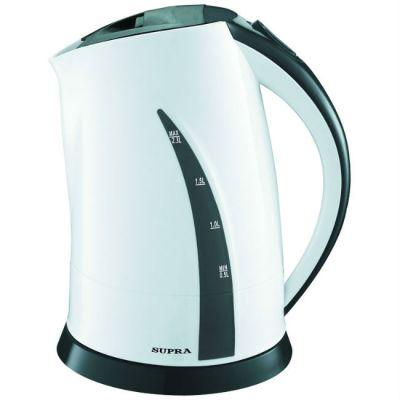 Электрический чайник Supra KES-2301 белый/серый