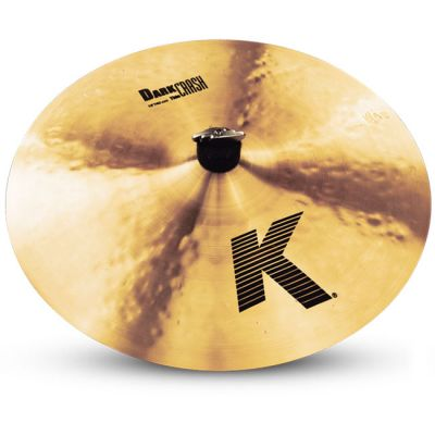 "Тарелка Zildjian 16"" K DARK CRASH THIN"
