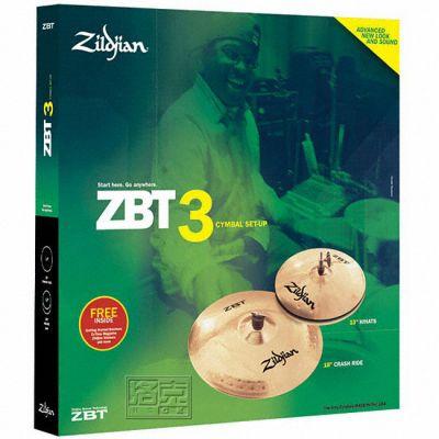 Комплект тарелок Zildjian ZBT 3 CYMBAL PACK ZBTS3P