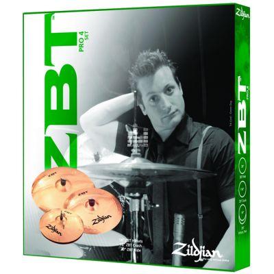 Комплект тарелок Zildjian ZBT PRO 4 CYMBAL PACK ZBTC4P