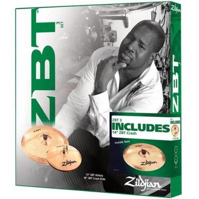 Комплект тарелок Zildjian ZBT 3 STARTER 2009 BONUS BOX SET ZBTS3P-9