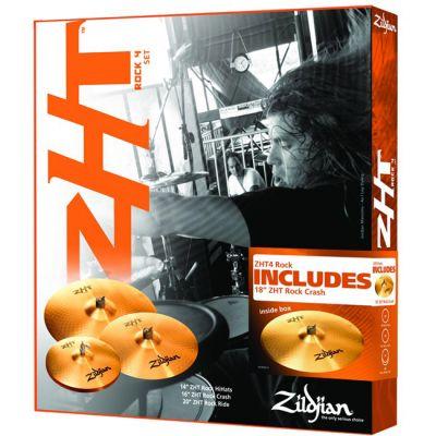 Комплект тарелок Zildjian ZHT Rock 2009 Promo Cymbal Box Set ZHTR4P-9