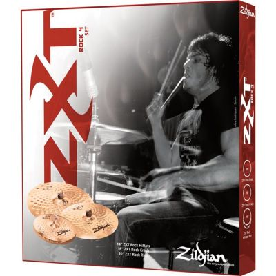 �������� ������� Zildjian ZXT Rock CYMBAL SET UP 4 PACK ZXTR4P