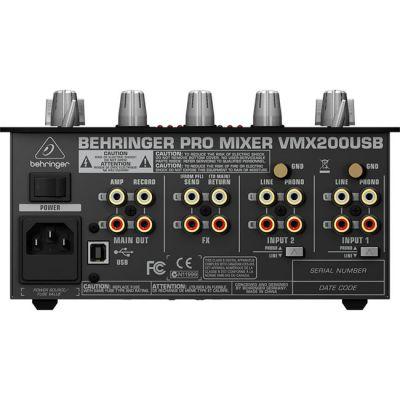 Микшерный пульт Behringer VMX200USB