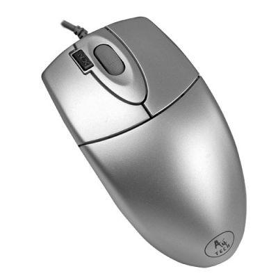 ���� ��������� A4Tech optical 2X Click USB Silver OP-620D